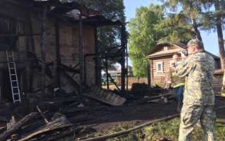 СК возбудил уголовное дело по факту пожара в Пермском районе
