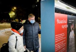 В Перми завершается установка световых элементов на новогодних маршрутах