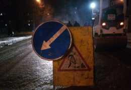 В Перми на участке улицы ограничено движение до одной полосы