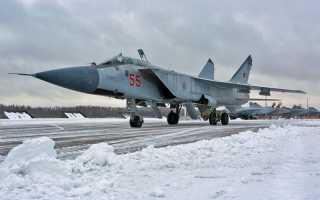 Появилось видео того, как в Пермском крае истребители-перехватчики принудили к посадке нарушителей воздушного пространства