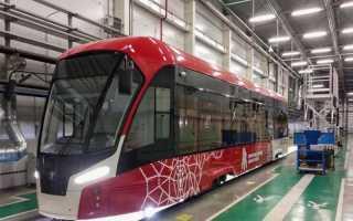 В Пермь поставят еще шесть новых трамваев «Львенок»