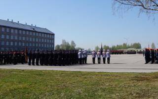 Парад в честь Дня Победы в Перми. Фотогалерея