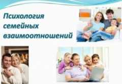 Психология семейных отношений и ее основные вопросы