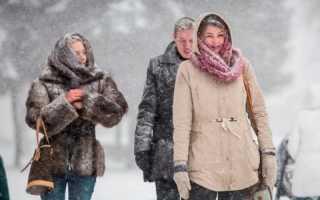 Экстремальное похолодание: на Пермский край обрушатся три волны холода