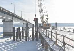 Власти рассказали об отставании от графика при строительстве Чусовского моста в Пермском крае