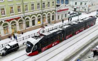 Еще одна авария на трамвайных путях в Перми