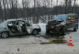 В ДТП в Пермском крае погиб пассажир легковушки