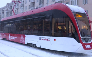 Все 15 новых трамваев модели «Львенок» прибыли в Пермь