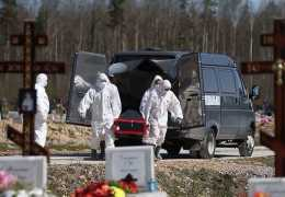 В России в ноябре зафиксирована рекордная смертность от коронавируса