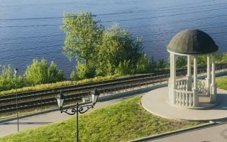 Отреставрированный участок набережной в Перми откроется в День города