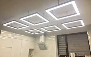 Светодиодные светильники и сфера их использования