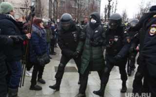 В России начались незаконные акции в поддержку Навального. Уже есть задержанные. Онлайн-трансляция