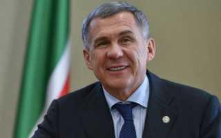 Президент республики Татарстан прибыл с рабочим визитом в Пермский край
