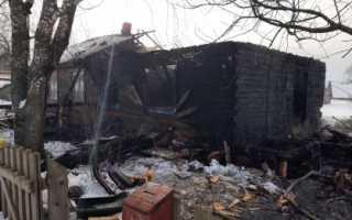СК возбудил уголовное дело по факту пожара в Пермском крае