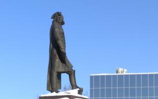 День города Перми отпразднуют у памятника Татищеву