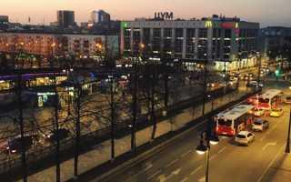 В Перми 17 апреля временно ограничат движение по Комсомольскому проспекту