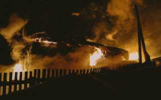 В Пермском крае на пожаре погиб человек