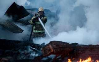 В Перми на пожаре погибла женщина еще два человека в больнице
