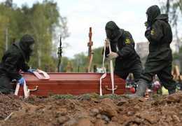 РБК: Смертность в России в условиях пандемии стала рекордной за последние 10 лет