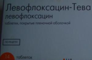 Левофлоксацин при простатите: особенности препарата и схема лечения