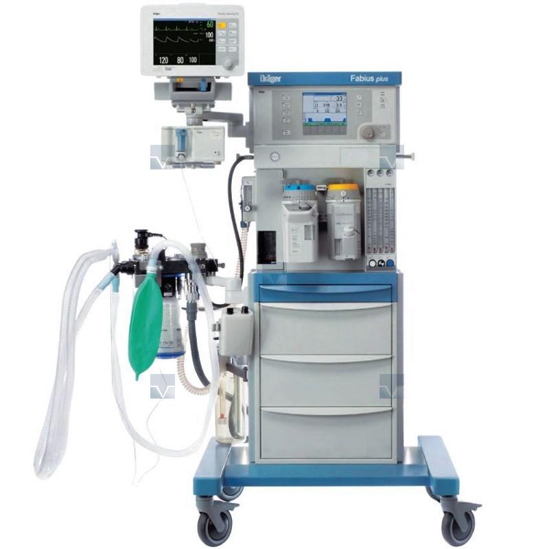 Fabius MRI :электроприводный наркозно-дыхательный аппарат, работающий в условиях электромагнитного излучения высокой интенсивности